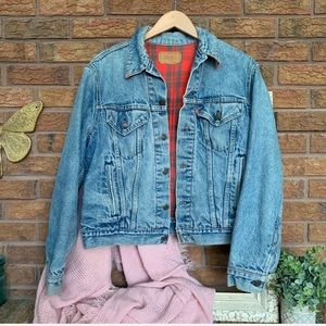 Levi's Vintage Flannel-lined Jean Jacket